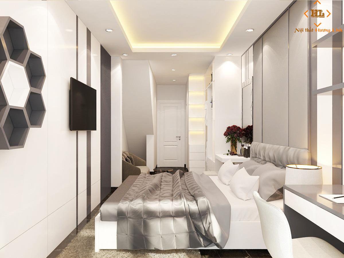 Mẫu phòng ngủ master căn hộ chung cư đẹp 02