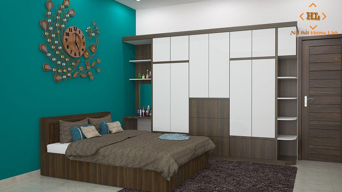 Giường ngủ gỗ công nghiệp đẹp