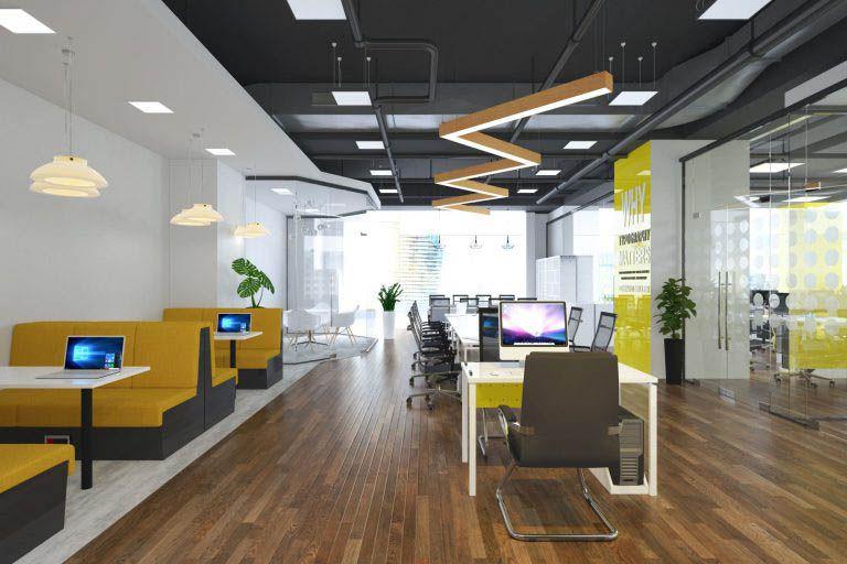 Thiết kế văn phòng cao cấp hiện đại