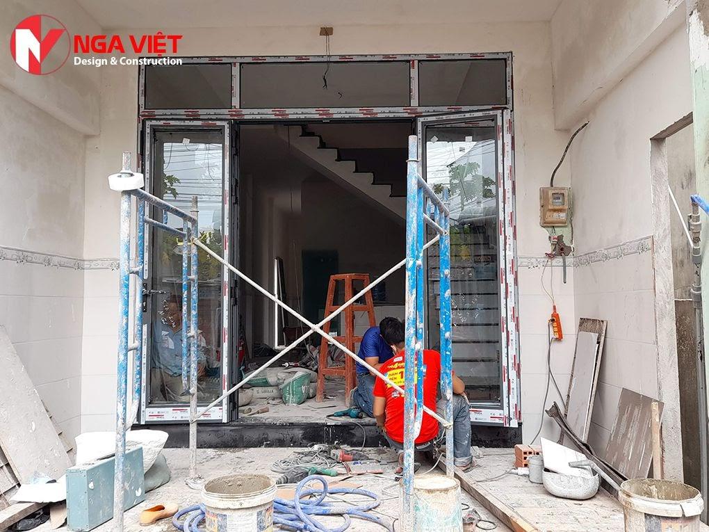 Cải tạo nhà phố chuyên nghiệp tại quận 12 - Nga Việt