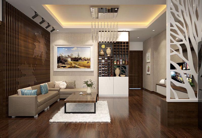 Thiết kế nội thất chung cư cao cấp 107m2