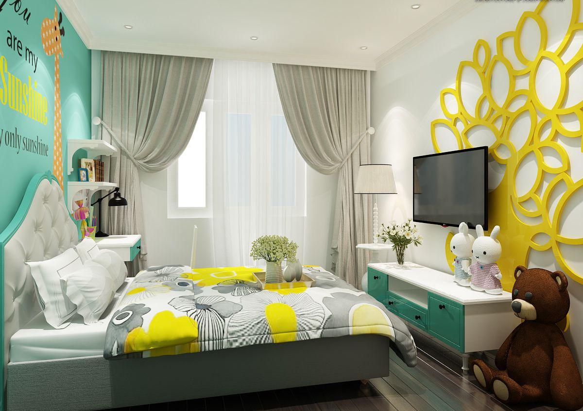 Mẫu phòng ngủ trẻ em